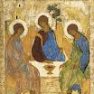Троица. Около 1411, Андрей Рублёв, ГТГ.jpg